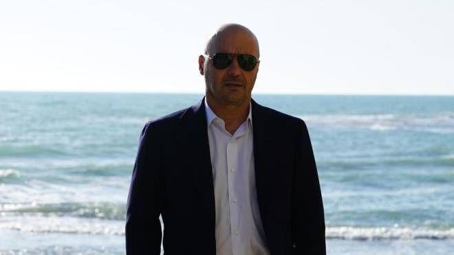 Luca Zingaretti  è il commissario Montalbano (Ansa)