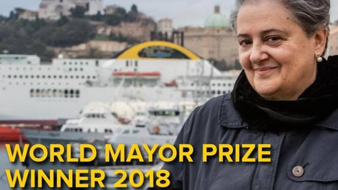 Valeria Mancinelli, eletta sindaco del mondo