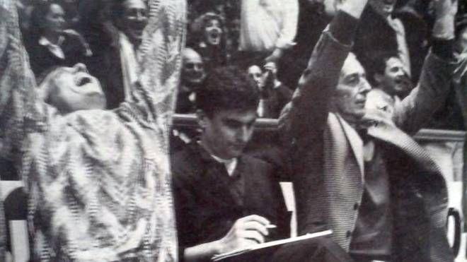 Da sinistra Sergio Guerra, Valmore De Pol e Lamberto Malatesta
