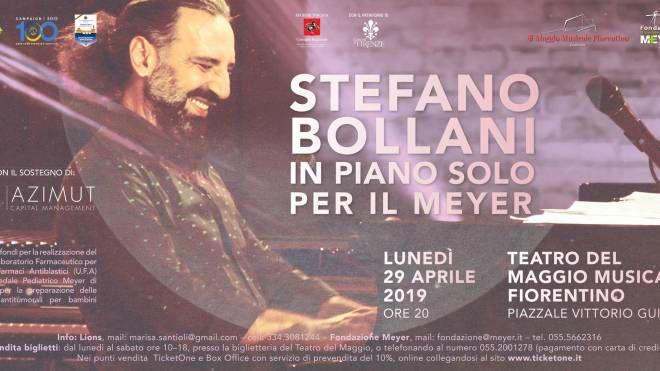 Stefano Bollani per il Meyer