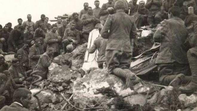 L'immane tragedia della Prima Guerra Mondiale