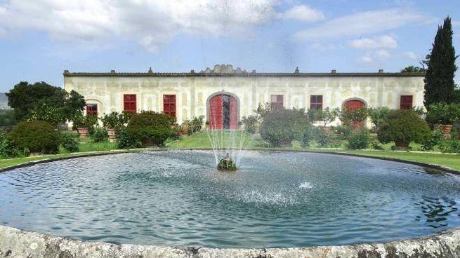 Un esterno di Villa La Magia a Quarrata