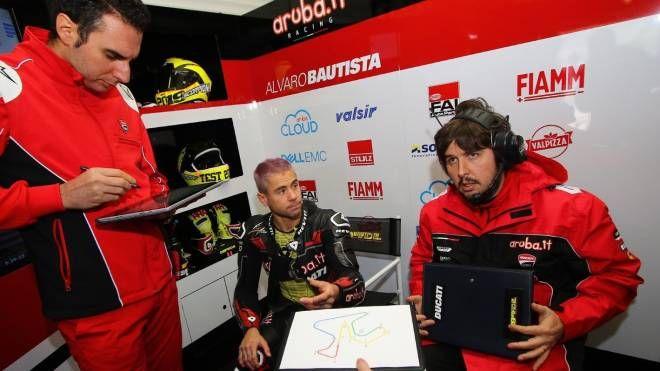 Bautista e a destra Giulio Nava, 38 anni