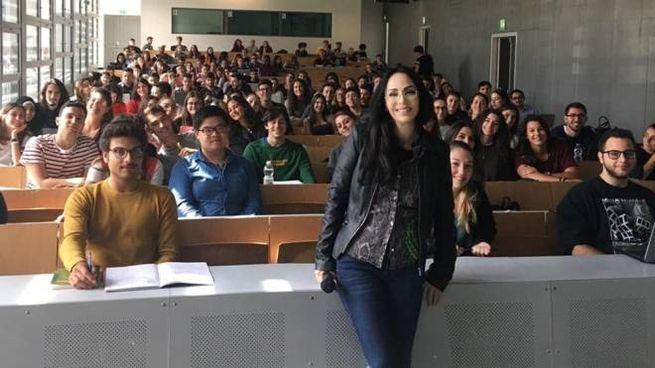 Luisa  Stracqualursi, ricercatrice riminese all'Università di Bologna e docente presso il Campus di Forlì