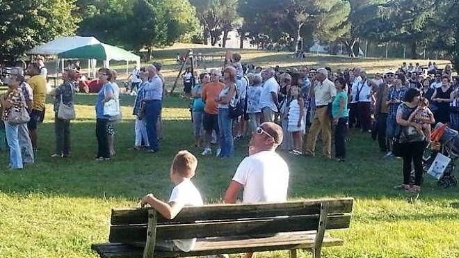 Un momento della Sagra Venatoria di Pistoia, organizzata con successo da Federcaccia
