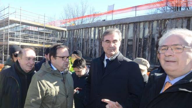 Al centro Massimo Simonini, ad di Anas