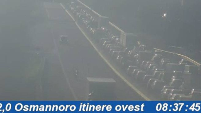 Code in ingresso a Firenze nella prima mattina di giovedì 14 febbraio