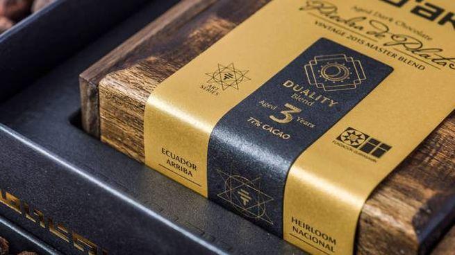 La tavoletta di cioccolato da 617 euro - Foto: toakchocolate.com
