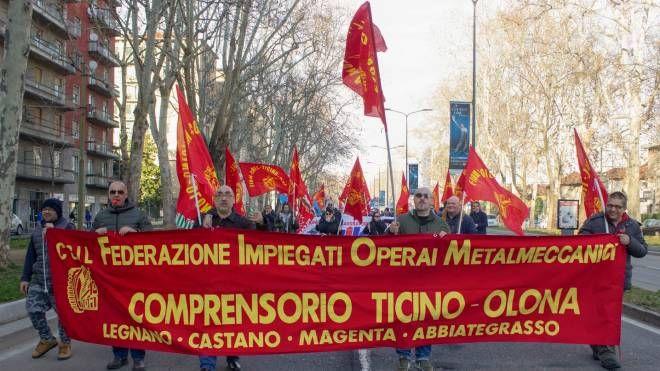 Abb di Vittuone in corteo a Milano