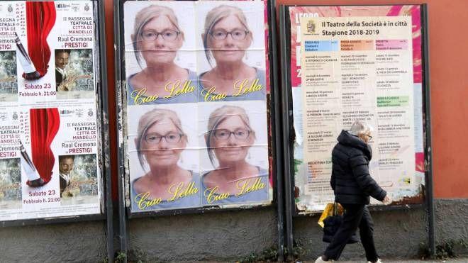 I manifesti affissi in città