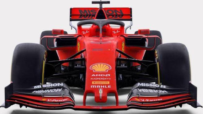 La nuova Ferrari SF90 (Ansa)