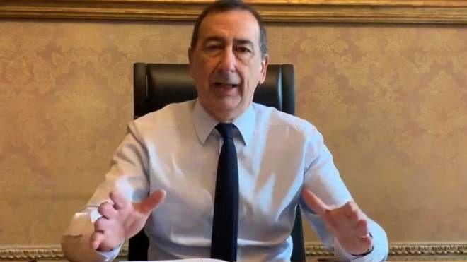 Il sindaco di Milano, Beppe Sala