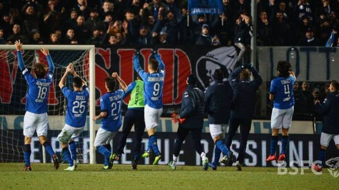 """Il Brescia ha conquistato un pareggio pesantissimo al """"Barbera"""" di Palermo"""