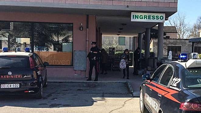 Petriano, il supermercato davanti al quale si è verificata la lite (Fotoprint)