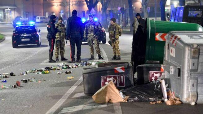 Ferrara, notte di paura al Gad (foto Businesspress)
