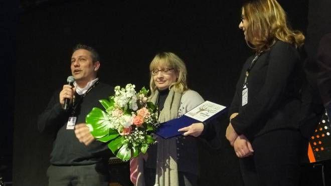 Lucia Russo riceve il Premio Daolio