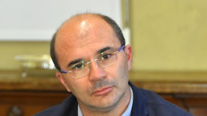 Il sindaco di Reggio Emilia Luca Vecchi (Foto Artioli)
