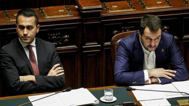 I vicepremier Di Maio e Salvini (Ans)