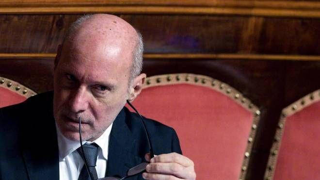 Il senatore espulso dal M5s, Gregorio De Falco (Ansa)