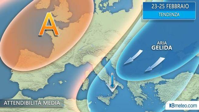 Meteo, la tendenza per l'Italia nel prossimo weeekend (3bmeteo.com)