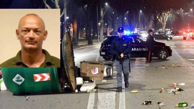 La rivolta a Ferrara. Nel riquadro, Marinai, da 20 anni sulle Volanti (Businesspress)