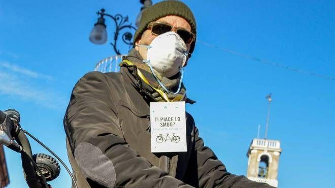 Rovigo, limitazioni al traffico a causa dello smog (Foto Donzelli)