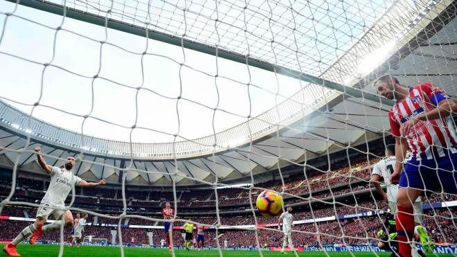 Atletico-Juve, il Wanda Metropolitano di Madrid (Afp)