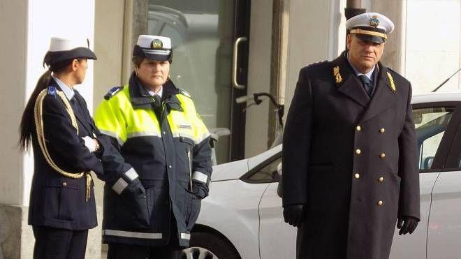 La polizia locale guidata dal comandante Pierantonio Moretto