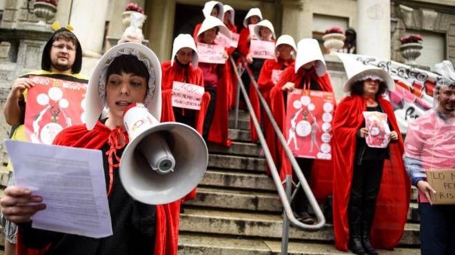 Manifestazione in difesa della 194
