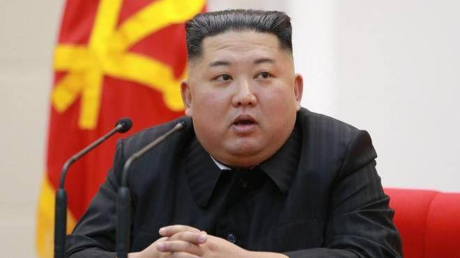 Il dittatore nordcoreano Kim Jong-un (Ansa)