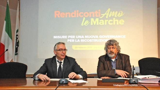 Ceriscioli sulla ricostruzione post terremoto delle Marche