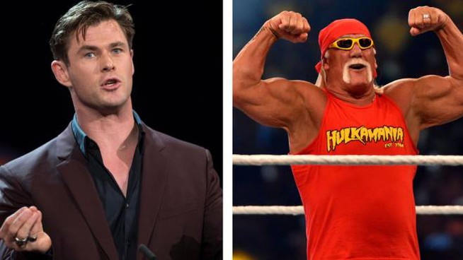 Chris Hemsworth e Hulk Hogan