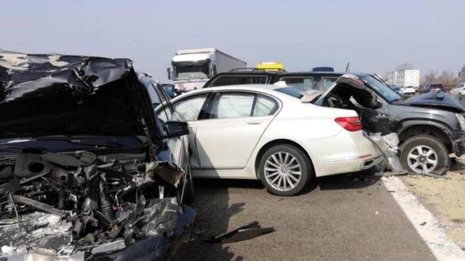 Incidenti tra lo svincolo della A4 e la A22 del Brennero
