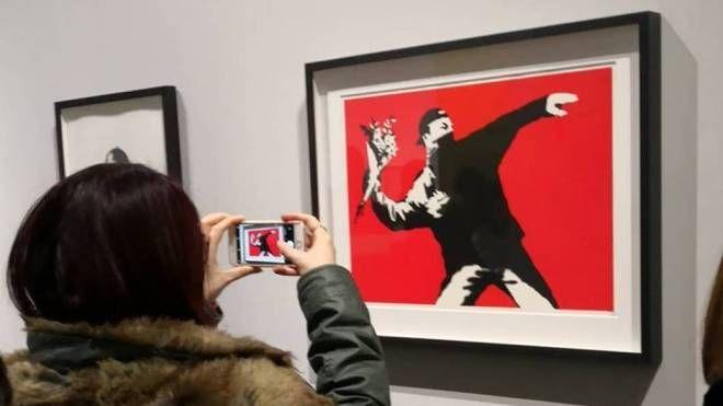 La mostra di Banksy a Milano