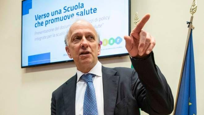 Il ministro dell'Istruzione Marco Bussetti (ImagoE)