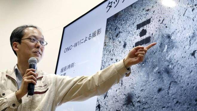 Yuichi Tsuda dell'Agenzia aerospaziale nipponica Jaxa (Ansa Ap)