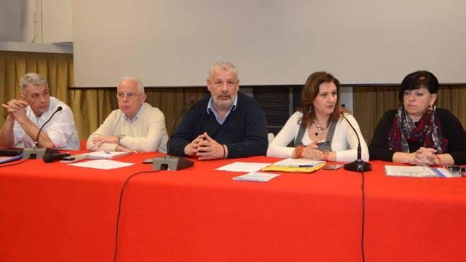 Rovigo, l'assemblea dei sindacati sugli organici degli ospedali (Foto Donzelli)