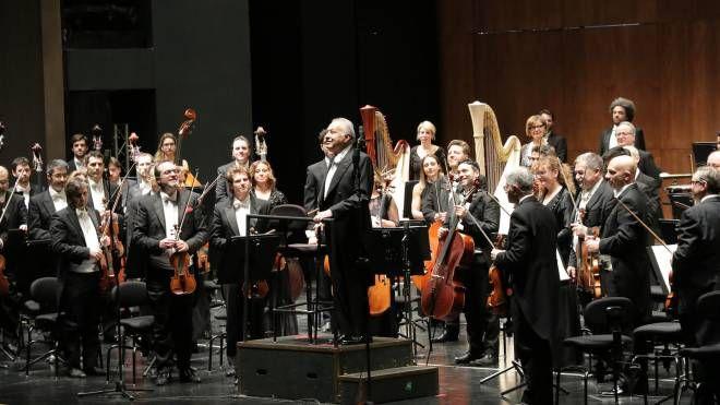 Ovazione per Zubin Mehta tornato a dirigere al Maggio Musicale (Visintini/New Press Photo)