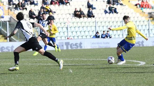 Il primo gol del Modena