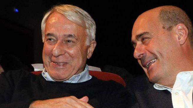Giuliano Pisapia con Nicola Zingaretti