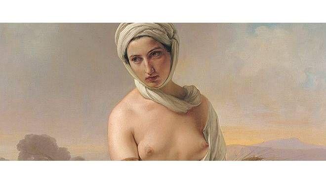 Francesco Hayez. Ruth. 1853, olio su tela