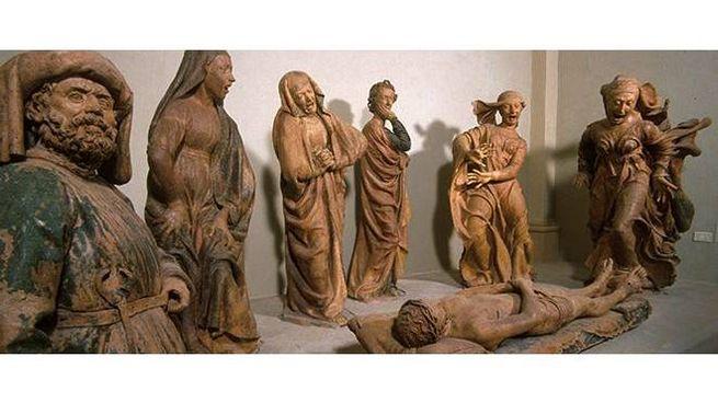 Niccolò Dell'Arca, Compianto sul Cristo morto