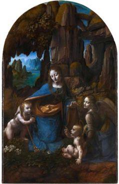 La Vergine delle Rocce di Leonardo  da Vinci (National Gallery di Londra).