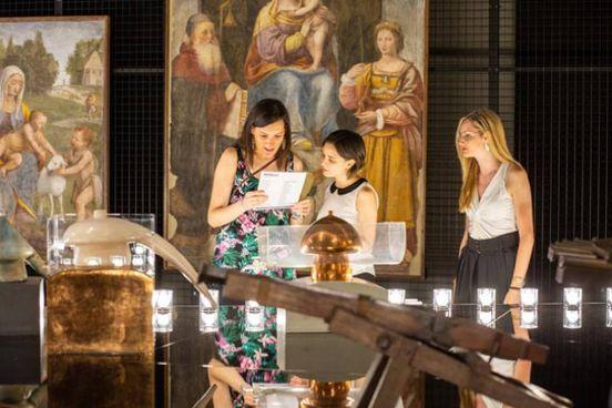 ARTE E MODELLI  al Museo della Scienza  e Tecnologia di Milano