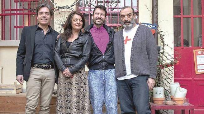 Carlo Vanoni, Rossana Ciocca, Matteo Bergamini e Gianni Romano (NewPress)