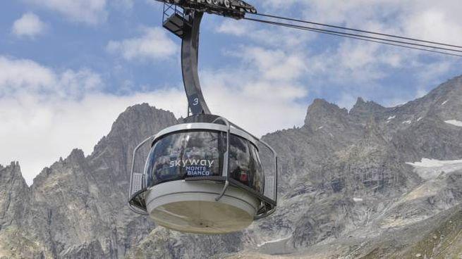 Le funivie del Monte Bianco