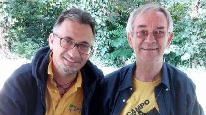 Marco Gasparini e don Giancarlo De Santi
