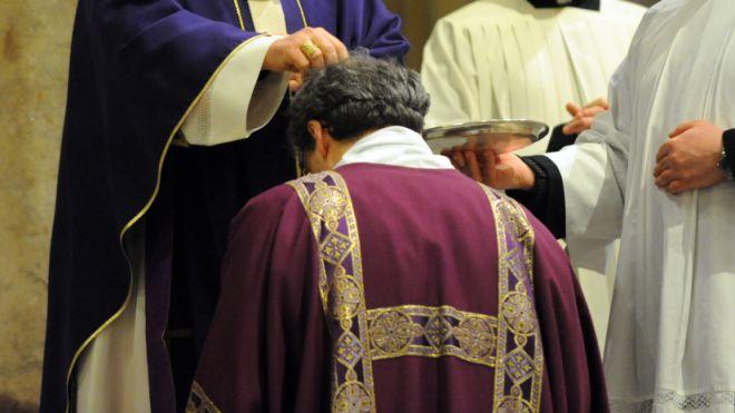 Mercoledì delle Ceneri, rito liturgico (Fotoschicchi, archivio)
