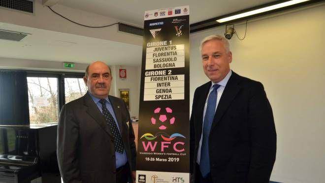 La presentazione del torneo femminile della Viareggio Cup