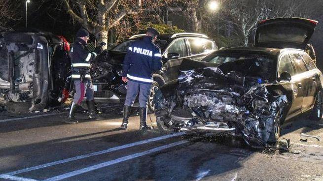 L'incidente mortale di Porto Recanati (Foto De Marco)